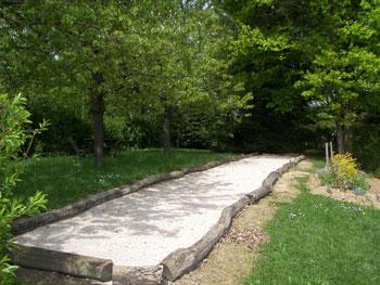 La cassinette le jardin for Terrain de petanque dans son jardin